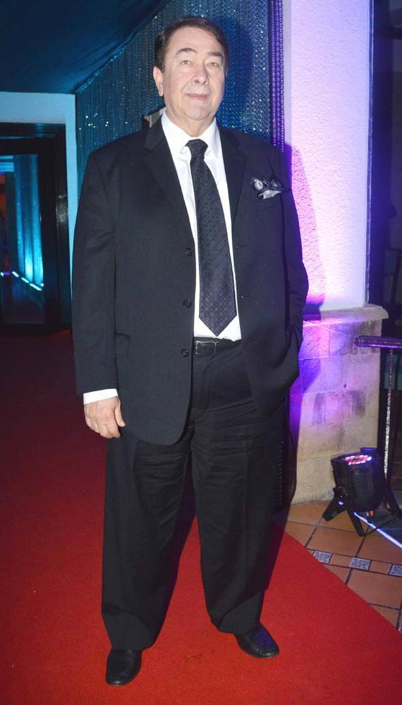 Randhir Kapoor Spotted At Sun N Sand 50th Anniversary Function