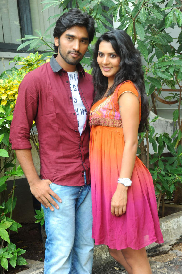 Sindhu And Aneesh Nice Look Photo At Coffee With My Wife Movie Launch
