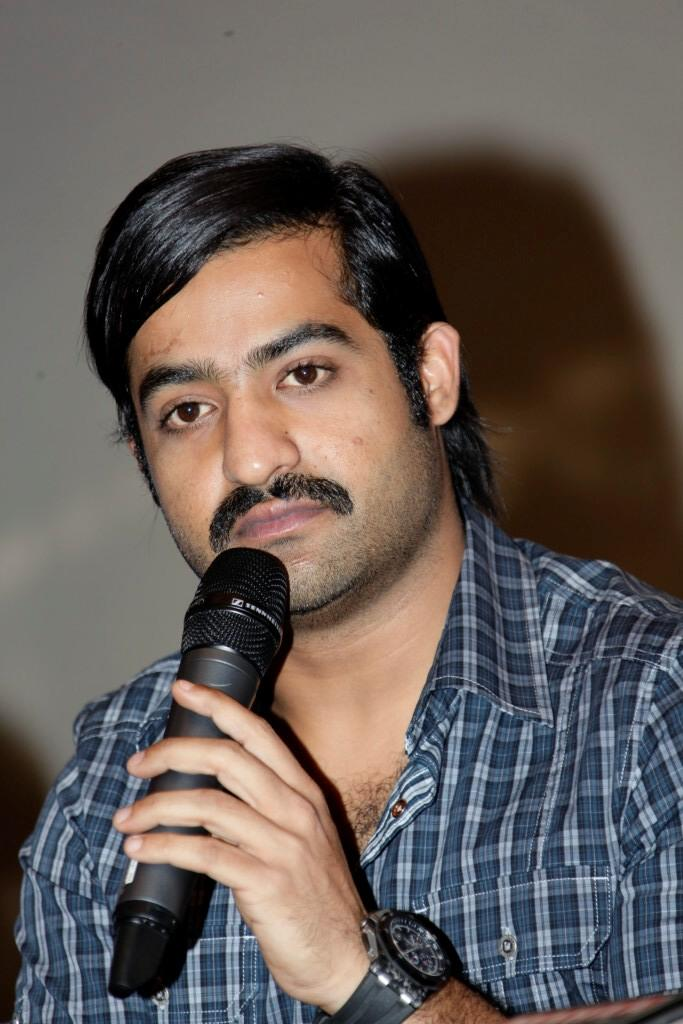 Jr Ntr Photo Clicked While Speak To Press At Malabar Gold And Dimond Launch Event