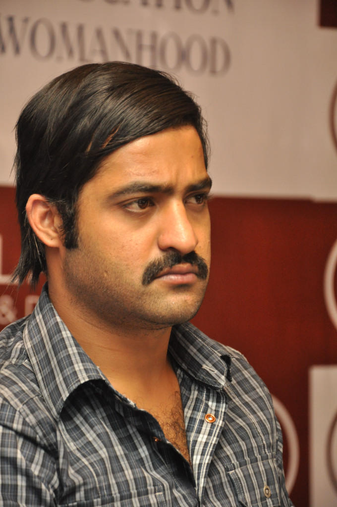Jr Ntr Simple Look Still  At Malabar Gold And Dimond Launch Event