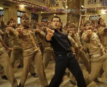 Salman Dancing Still From Movie Dabangg 2
