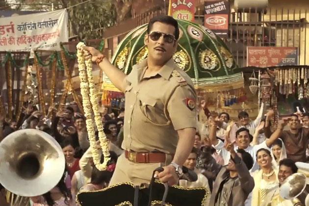 Salman Rocking And Dashing look In Dabangg 2 Movie Song