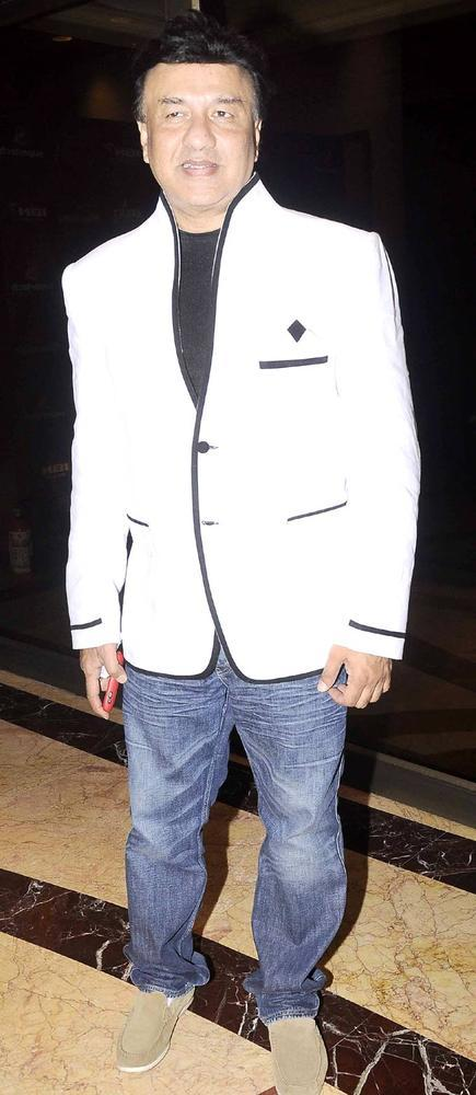 Anu Malik Arrived At IBN7 Super Idols Award Ceremony