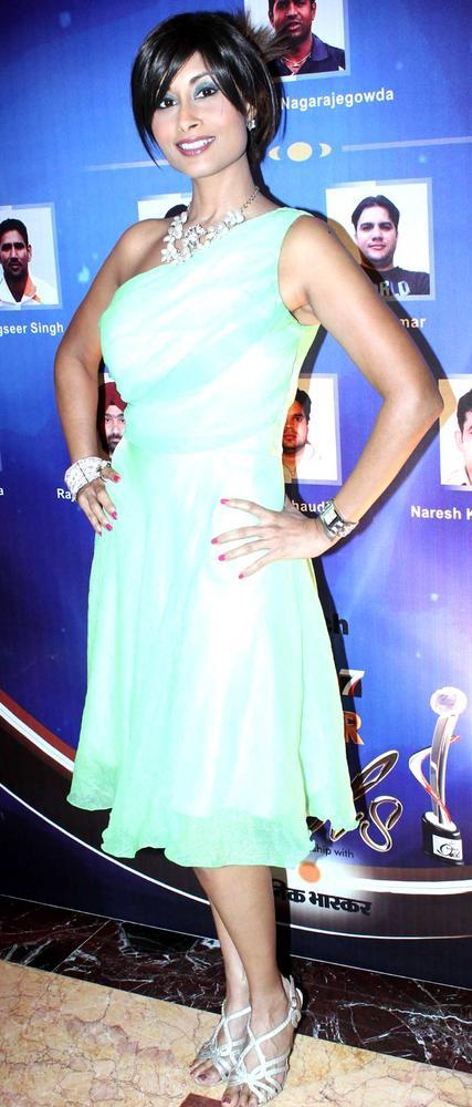 Ayesha Sagar At IBN7 Super Idols Award Ceremony Event