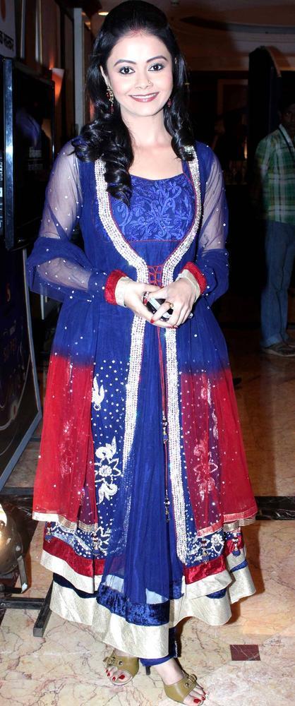 A Bollywood Star At IBN7 Super Idols Award Ceremony