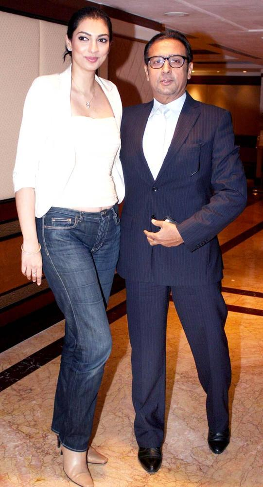 Yukta With Gulshan Attend The IBN7 Super Idols Award Ceremony