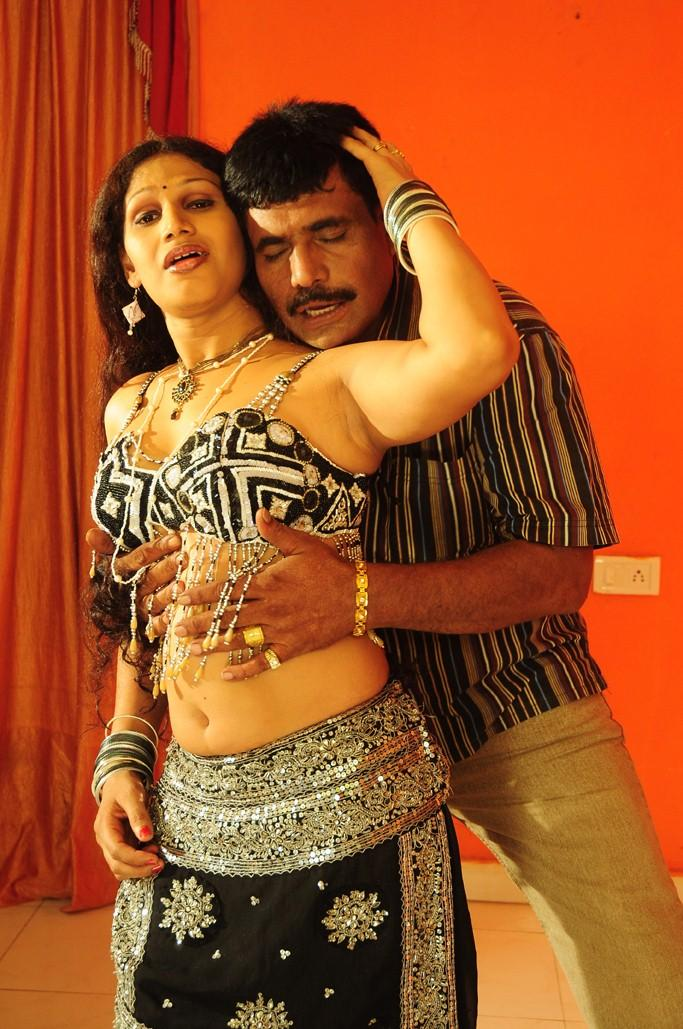 Sirisha Hot Scene From O Aunty Katha Movie