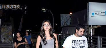 Anushka Sharma Nice Look In Goggles At PVR Juhu