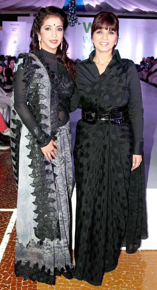 Krishika Lulla And Neeta Lulla At Global Peace Fashion Show