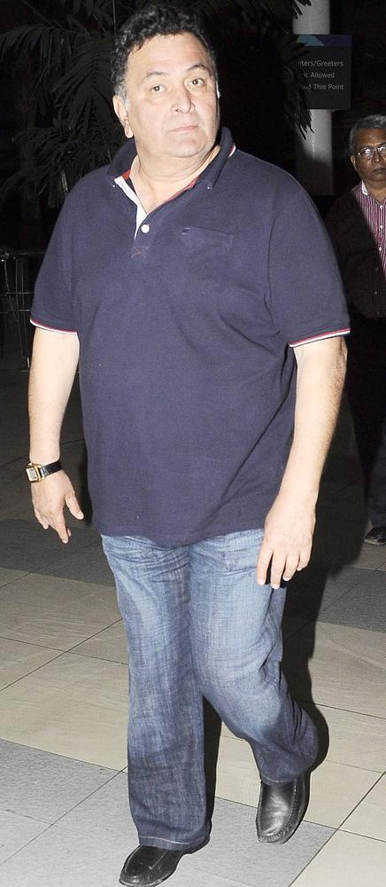 Rishi Kapoor Attend Dabangg 2 Screening Event