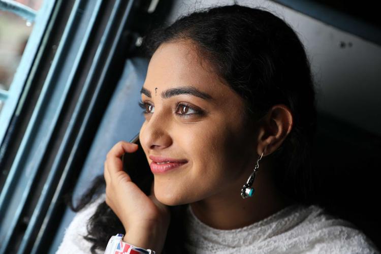 Nithya Menon Cute Smiling Beautiful Look Still