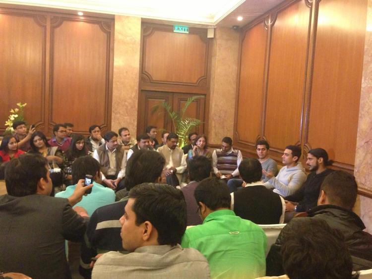 Team Talaash Attend A Press Meet Event In Delhi