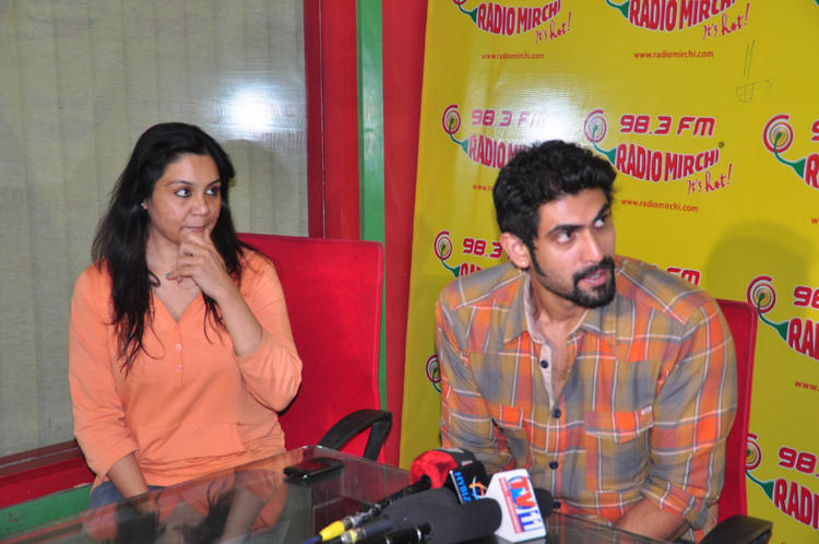 Rana Daggubati At Radio Mirchi