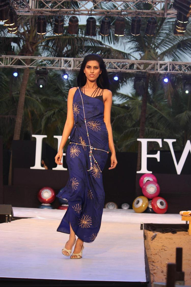 A Model Walks For James Ferreira At IRFW 2012 In Goa