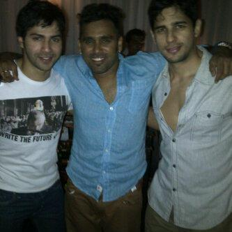 Siddharth,Varun And A Friend Nice Pic On Twitter