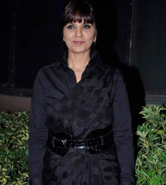 Neeta Lulla Nice Look In Black Dress At Global Peace Fashion Show