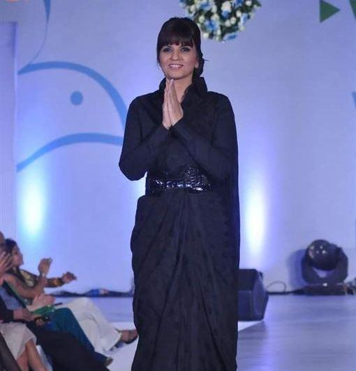 Neeta Lulla Photo Clicked At The Global Peace Fashion Show