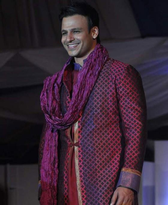 Vivek Oberoi On Ramp At The Global Peace Fashion Show