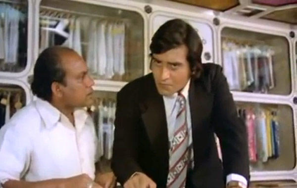 Vinod Khanna Snap Taken From Movie Inkaar