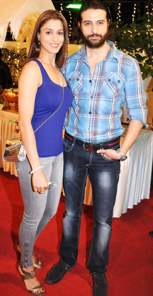 Apurva With Wife Shilpa Spotted At Mushtaq Sheikhs Niece Aqeeqah Party