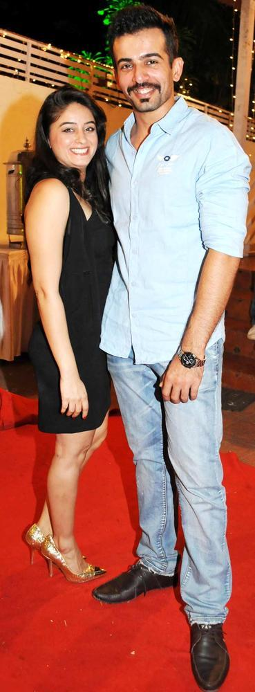 Jay With Wife Mahhi On Red Carpet At Mushtaq Sheikhs Niece Aqeeqah Function