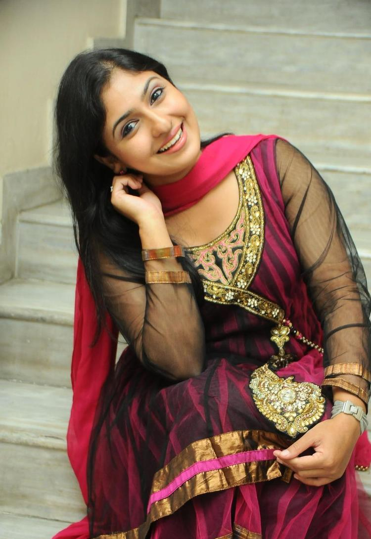 Monica Stunning Look In Chudidar At Scam Telugu Movie Audio Launch