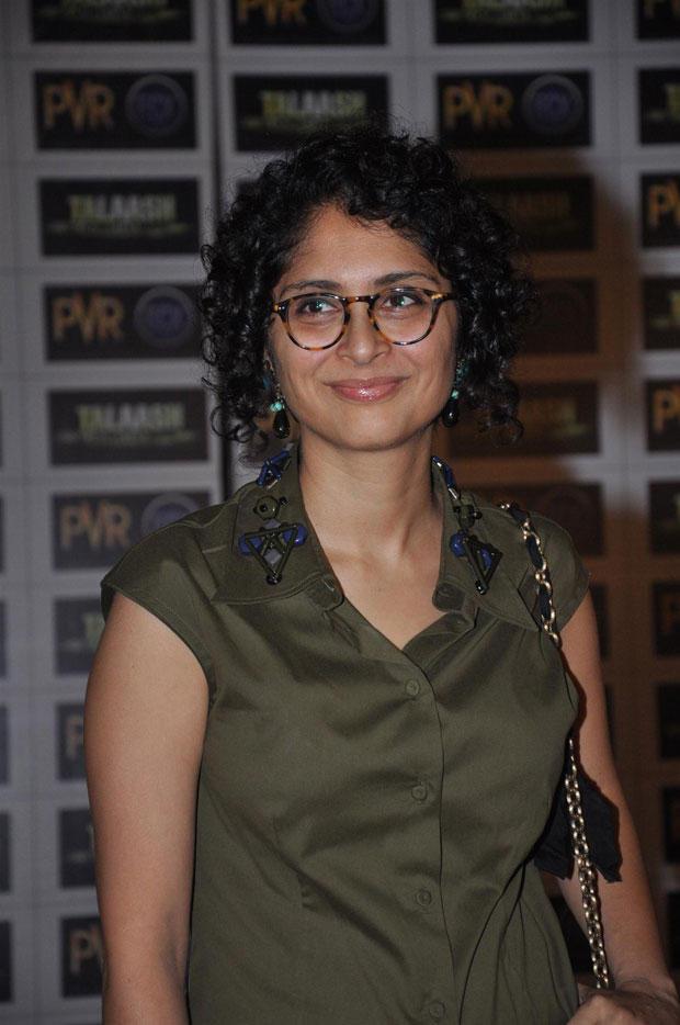 Kiran Rao Cute Smiling Look Still At Talaash Premiere Show