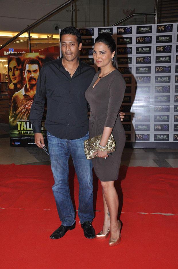 Lara  And Mahesh On Red Carpet At Talaash Premiere Show