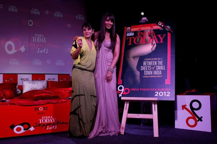Bipasha Basu Unveil The India Today Sex Survey Issue
