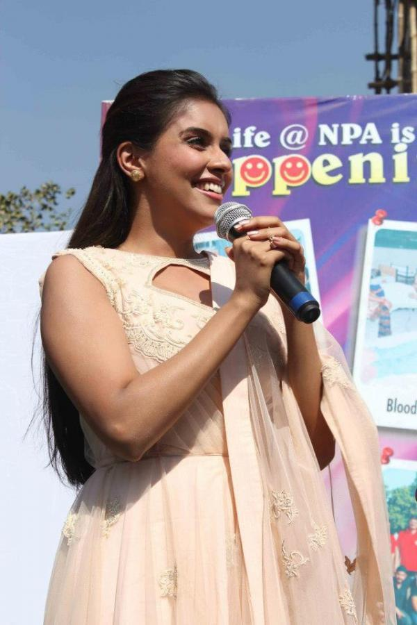 Asin Photo Clicked At Indore During Promotion Of Khiladi 786