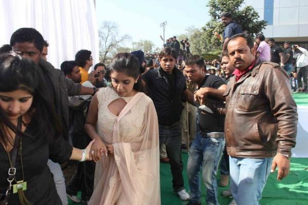 Asin Photo Clicked At Indore While Promoting Khiladi 786