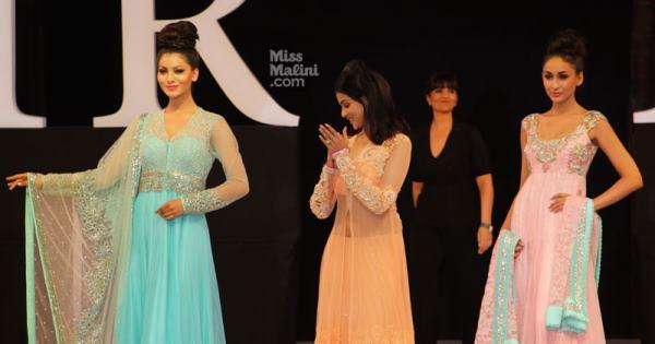Genelia And Neeta Lulla Walks On The Ramp At IRFW On Day 2
