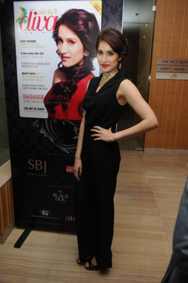 Sagarika Ghatge Cover Girl For Launch Issue Of Atelier Diva Magazine