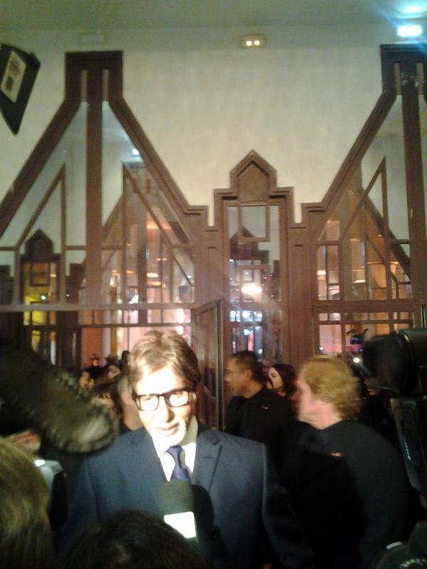 Amitabh Bachchan Arrived At The Marrakech Film Festival
