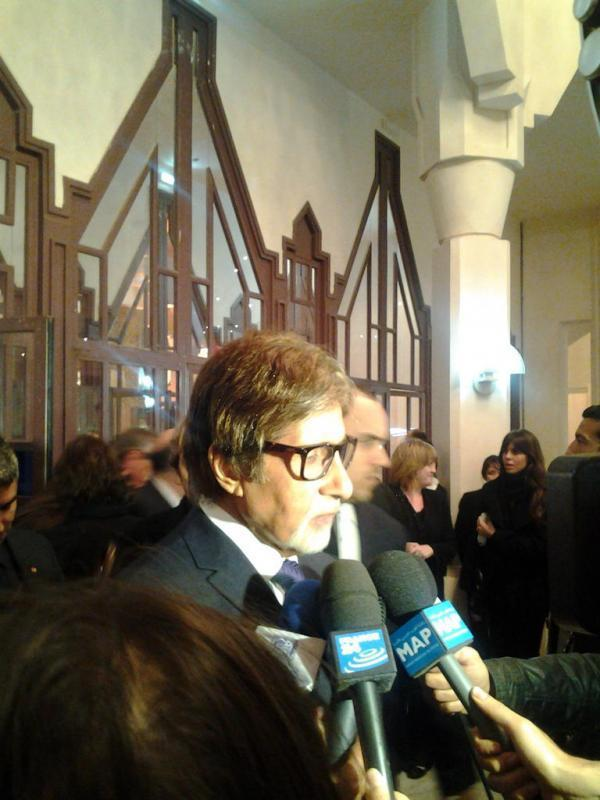 Amitabh Bachchan Snapped At The International Film Festival Of Marrakech