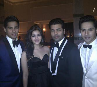 Karan With His SOTY Team Spotted At The International Film Festival Of Marrakech