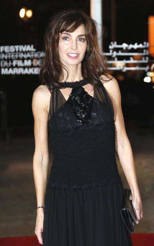 French Actress Anne Dazzles In Red Carpet At 12th Marrakech International Film Festival