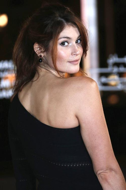 Gemma Bare Back Show Sexy And Stunning Look Pose At 12th Marrakech International Film Festival