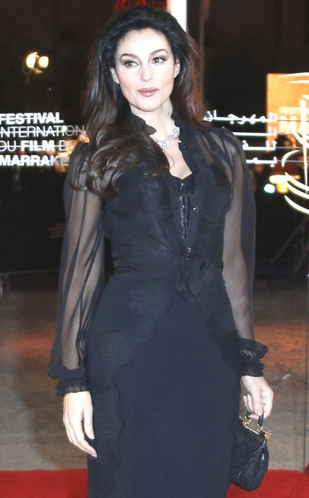 Monica Bellucci Dazzles At 12th Marrakech International Film Festival