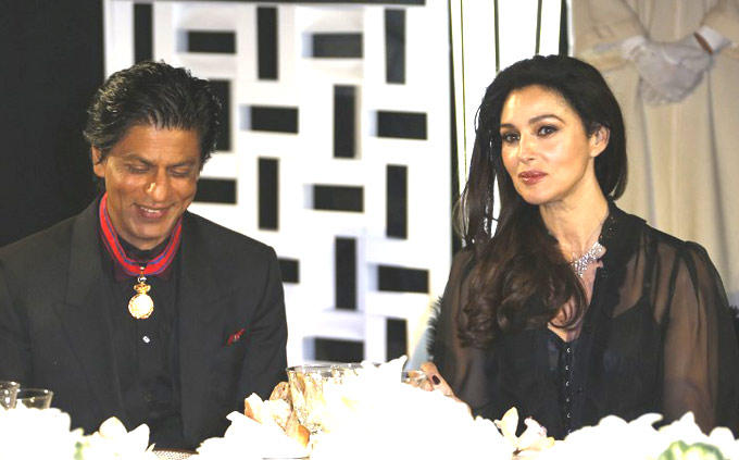 Shahrukh With Monica Clicked At 12th Marrakech International Film Festival