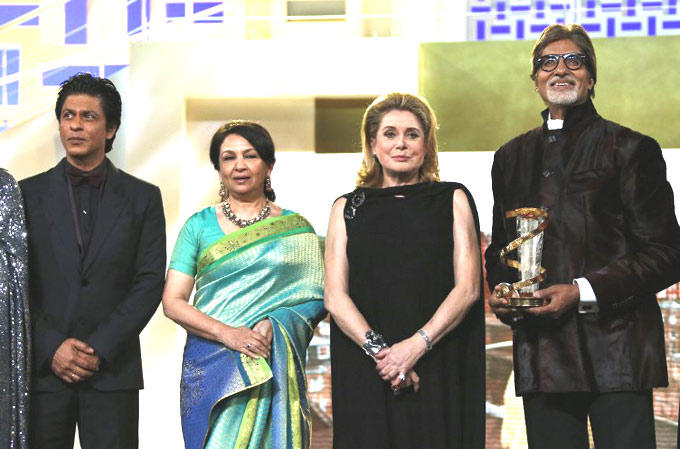 Sharmila,Shahrukh And Amitabh At 12th Marrakech International Film Festival