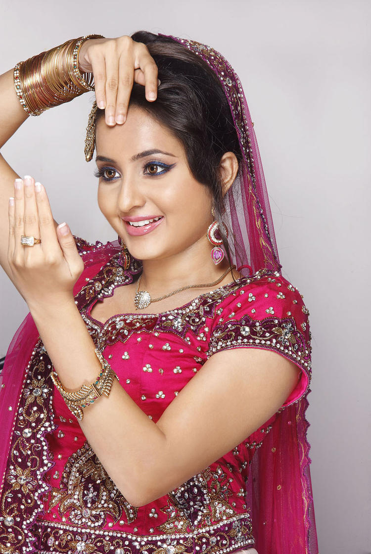 Bhama Looked Radiant And Beautiful Still In Red Lehenga