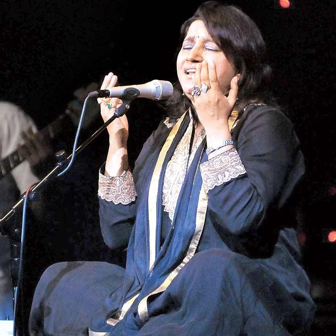 Kavita Seth Is Lost In The Music At Her Live Concert