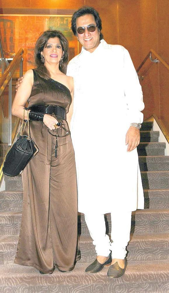 Talat With Wife Bina Clicked At Kavita Seth's Live Concert