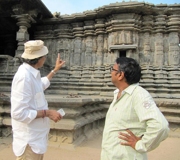 Gunasekhar And Thota Tharani In Warangal Still