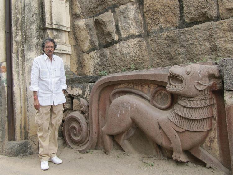 Thota Tharani Posed At Warangal