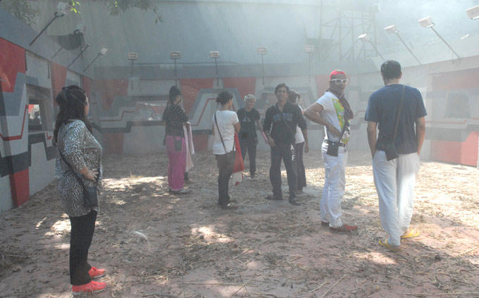 All The Contestants Photo Clicked In Garden Area On Bigg Boss 6