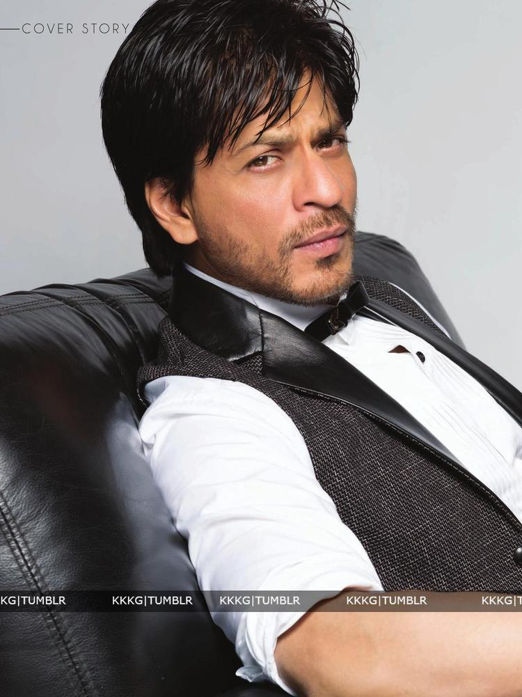 Shahrukh Smoky Eye Look Shoot For Le City Delux India December 2012