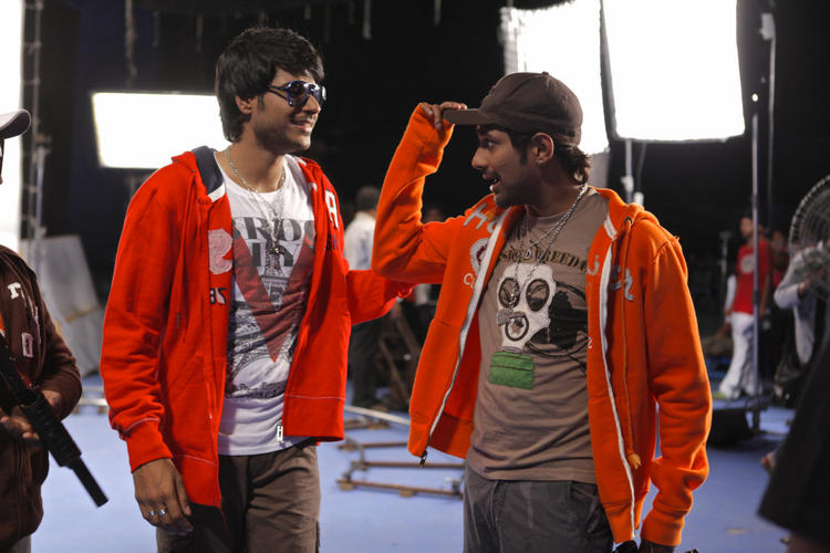 Varun And Sundeep Snapped At Movie D For Dopidi Location