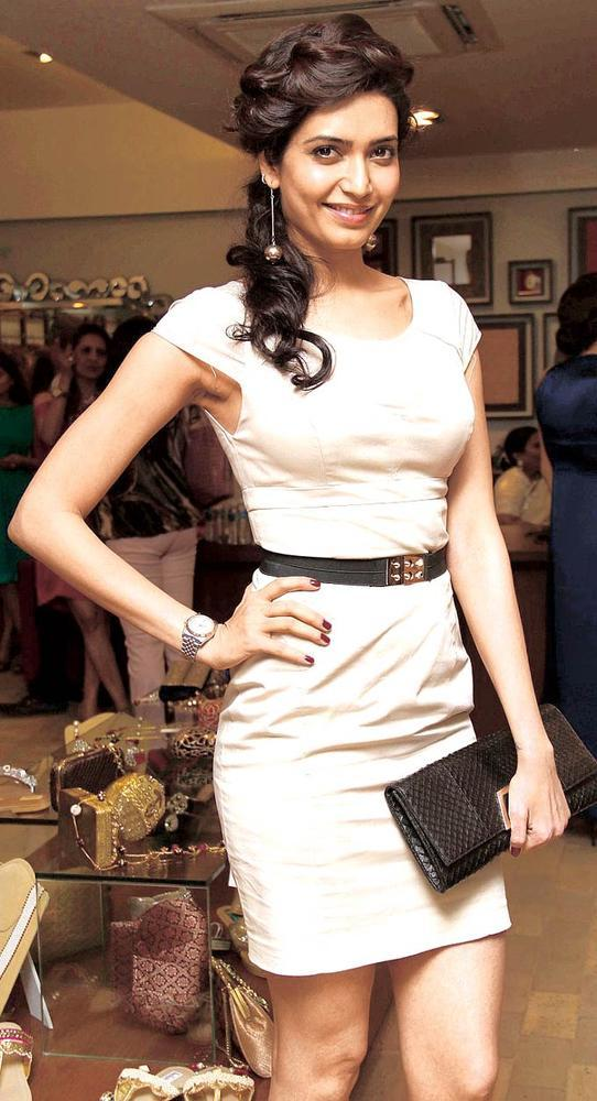 Karishma Strikes A Pose At FUEL The Fashion Store Collection Launch